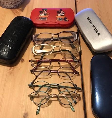Jyväskylän Medilaserissa tehtiin laserleikkaus Mariannalle. Marianna ehti käyttää silmälaseja 19 vuotta.