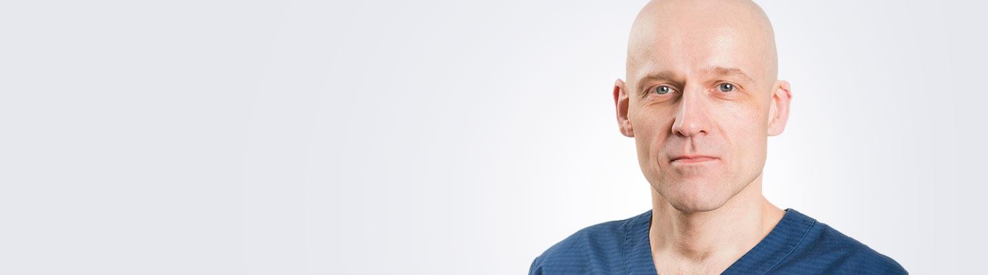 Silmätautien erikoislääkäri Juha Lappalainen työskentelee Jyväskylän ja Porin Medilaserissa.