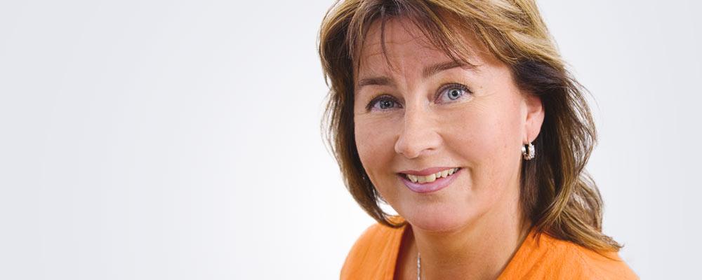 Vastaanottosihteeri Kirsi-Maria Rantanen työskentelee pääsääntöisesti Jyväskylän Medilaserissa.