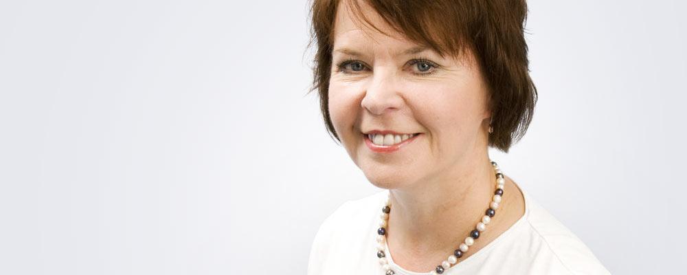 Sairaanhoitaja Riitta Varamäki työskentelee pääsääntöisesti Seinäjoen Medilaserissa.